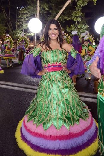 Lara Afonso foi a madrinha da marcha de Marvila
