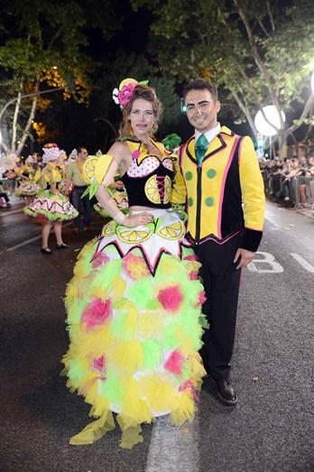 Sónia Brazão e Flávio Gil foram os padrinhos da marcha do Bairro Alto
