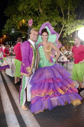 Diamantina e Sérgio Rossi foram os padrinhos da marcha dos Olivais