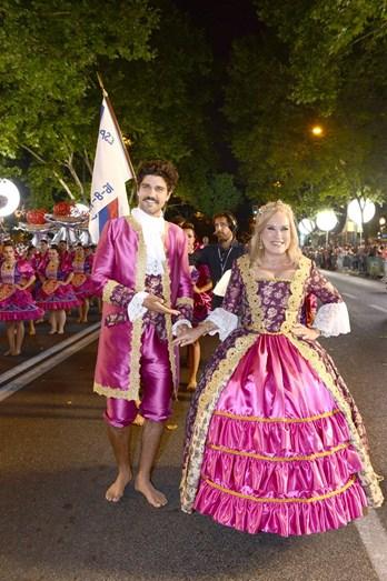 Bruno Cabrerizzo e Teresa Guilherme, por Alcântara