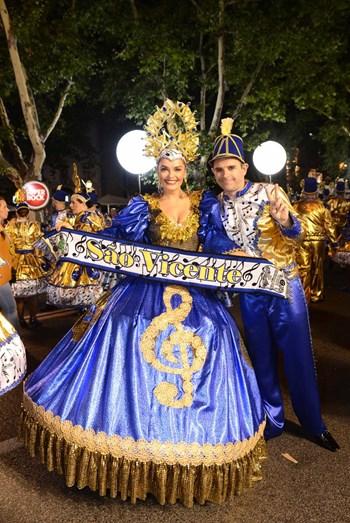Melânia Gomes e Jorge Mourato, por São Vicente