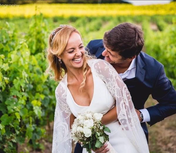 Bárbara Norton de Matos casou-se com Ricardo Areias