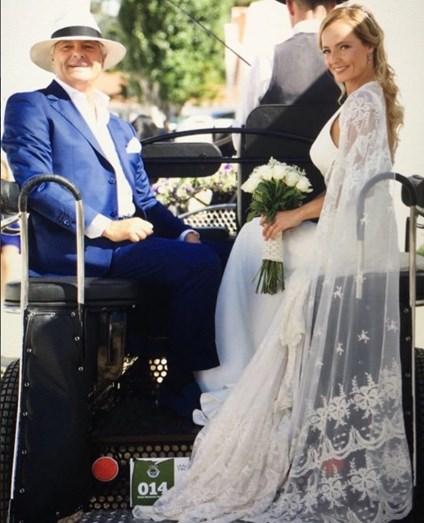 A noiva e o pai