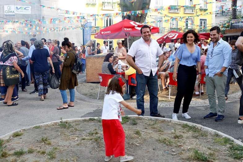 A filha mais nova da candidata à Câmara de Lisboa divertiu-se bastante neste programa familiar