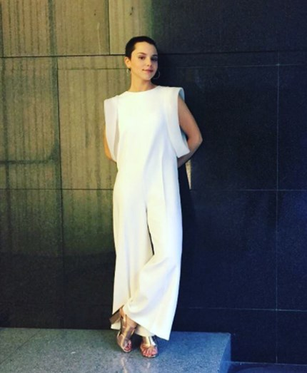 Filipa Areosa vestiu Carlos Gil