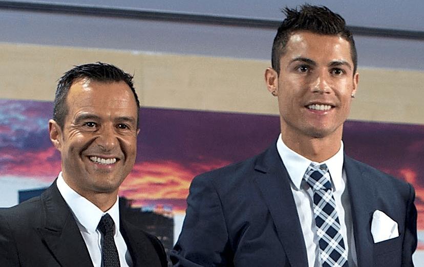 Jorge Mendes apostou em Cristiano Ronaldo quando o craque era um miúdo, levando-o para o Manchester United.