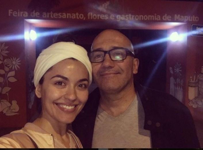 José Raposo e Sara Barradas em Moçambique