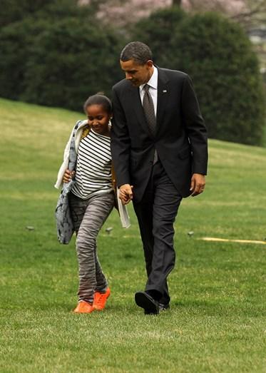 Sasha Obama: como ela cresceu!