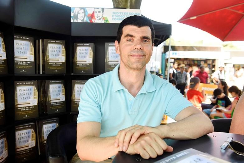 Diogo Telles ajudou a jornalista a escrever o livro
