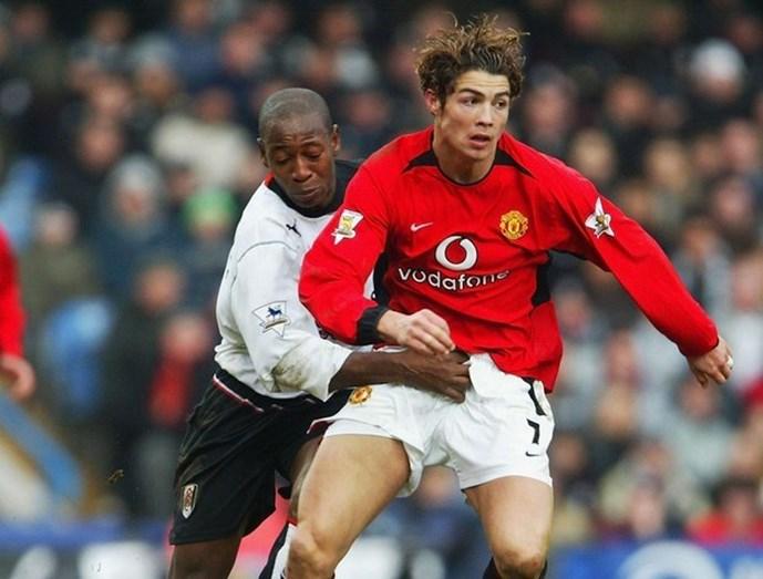 Cristiano Ronaldo nos tempos do Manchester United