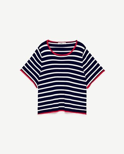 T-shirt Zara, €15,95
