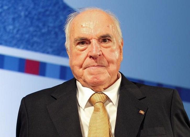 Morreu o antigo chanceler alemão Helmut Khol