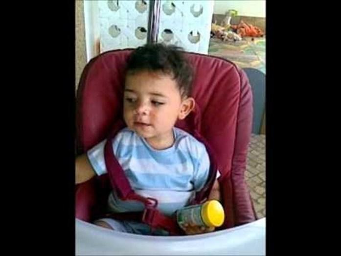 Cristianinho em bebé