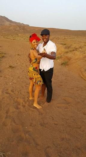 Num dos programas de 'Danças do Mundo'
