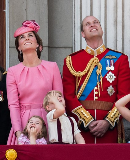Kate, Charlotte, William e George