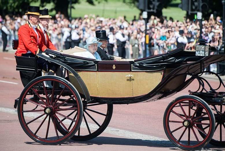 A rainha e o marido, o duque de Edimburgo