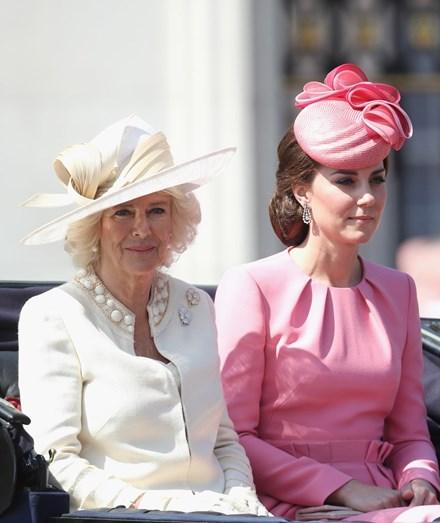 Camila Parker Bowles e Kate Middleton