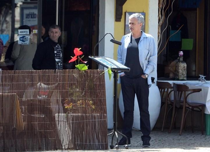 José Mourinho em Setúbal