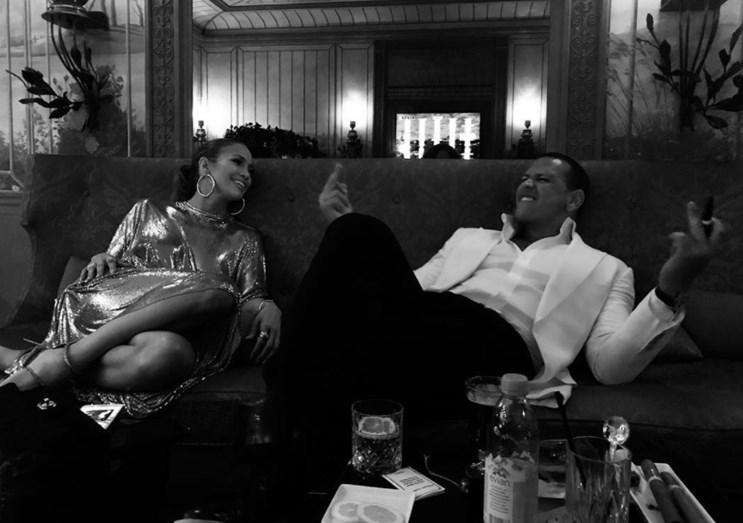 As férias românticas de Jennifer Lopez e Alex Rodriguez em Paris