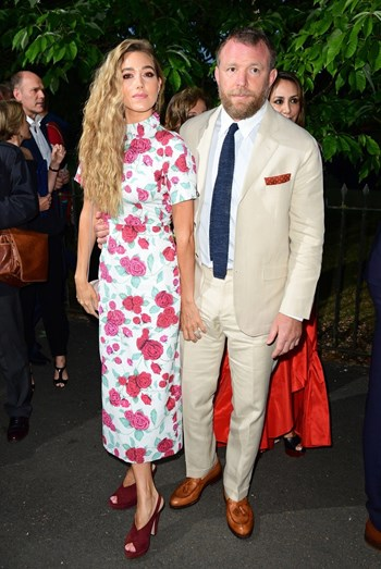 Jacqui Ainsley e Guy Ritchie