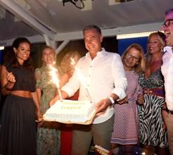 Eugénio Campos celebra o 52º aniversário no Água Moments em Vilamoura