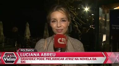 Gravidez de Luciana Abreu pode prejudicar a sua carreira