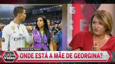 Onde está a mãe de Georgina Rodríguez?