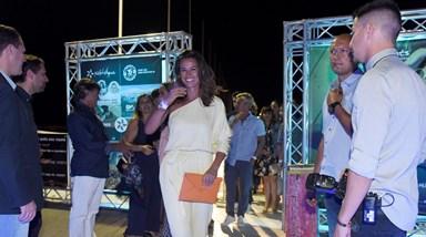 Cláudia Vieira rainha da festa do Hilton Vilamoura