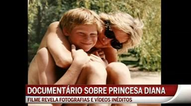 William e Harry lançam documentário sobre Diana