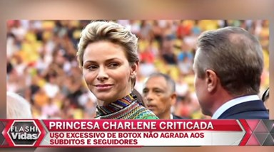 Charlene do Mónaco abusa do botox