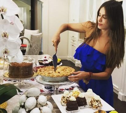 Sofia Vergara celebra o Dia da Independência dos EUA