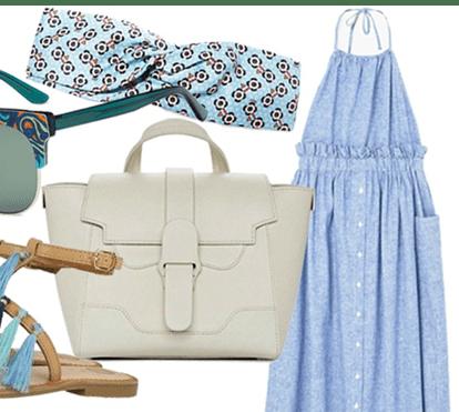 Segunda-feira: Verão azul