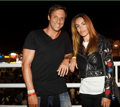 Liliana Aguiar e José Carlos Pereira reconciliados ao som do rock