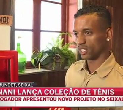 Nani lança coleção de ténis