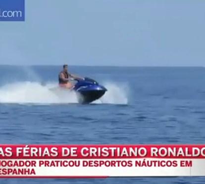 As férias radicais de Cristiano Ronaldo