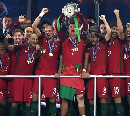 Relembre a final do Euro 2016
