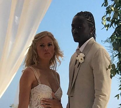 Veja o casamento de Eder, o herói nacional