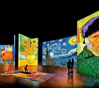 Já pode ver, tocar e pisar quadros do Van Gogh em Lisboa