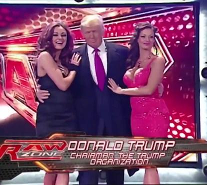 Donald Trump no WWE