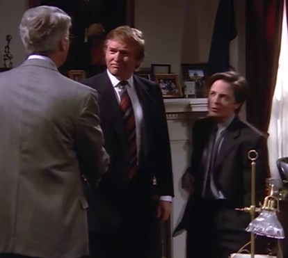 "Donald Trump ""Spin City"""