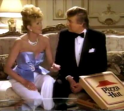 """Donald Trump anúncio """"Pizzahut"""""""