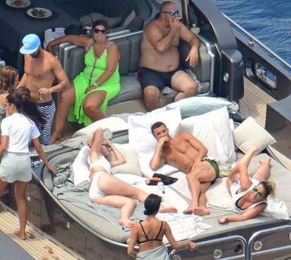 Iate de Cristiano Ronaldo em Ibiza custa 45 mil euros por semana