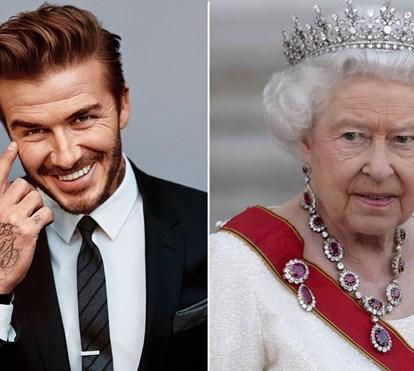 Beckham dá festa polémica no palácio de Buckingham às escondidas da rainha