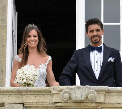 Casamento elegante no Palácio do Freixo