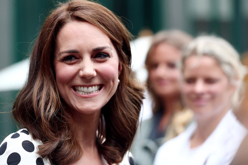 O novo visual de Kate Middleton