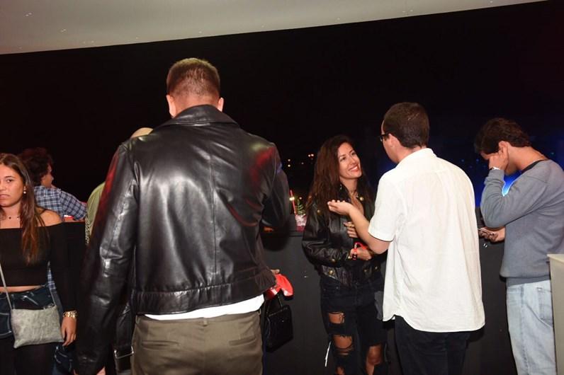 Ruben da Cruz e Ana Moura Cruzam-se com a ex-do DJ Sofia Ribeiro
