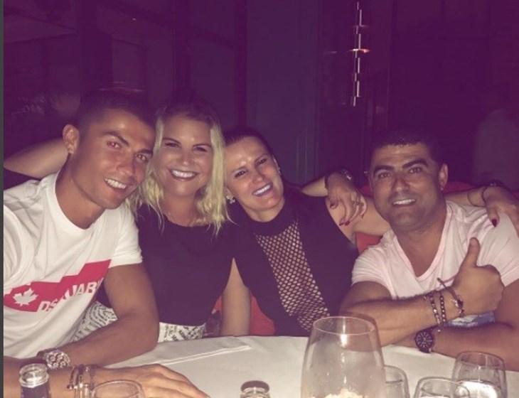 Ronaldo e Katia unidos de novo