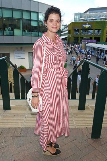 Famosos em Wimbledon