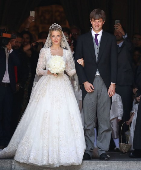 Ex-da princesa Carolina em guerra com o filho