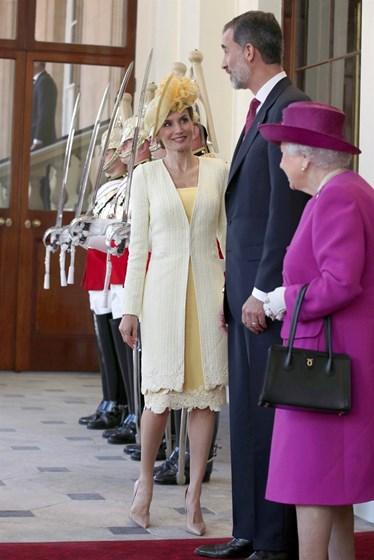Letizia brilha em Londres